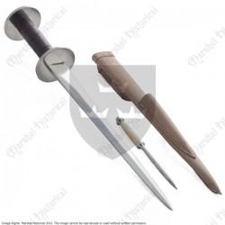 Dague à rouelle avec stylet