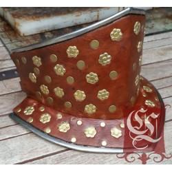 Bavière 14ème Habillée de cuir et parée de décorations