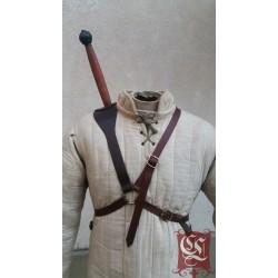 Fourreau d'épée dorsal Sur mesure