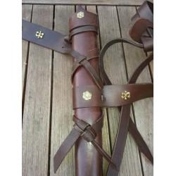 Fourreau d'épée SUR MESURE 13ème siècle